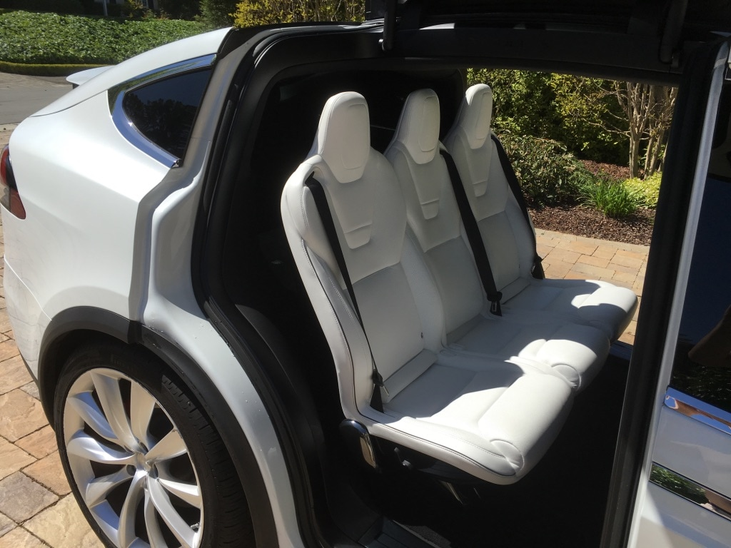 Model S 2016 White 3747 Only Used Tesla