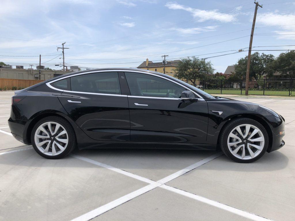 Model 3 2018 Black 13020 Only Used Tesla