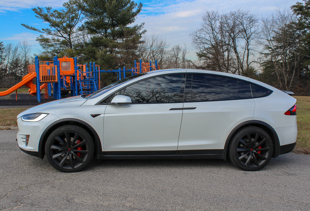 Model X 2017 Pearl White 5fdf2 Only Used Tesla
