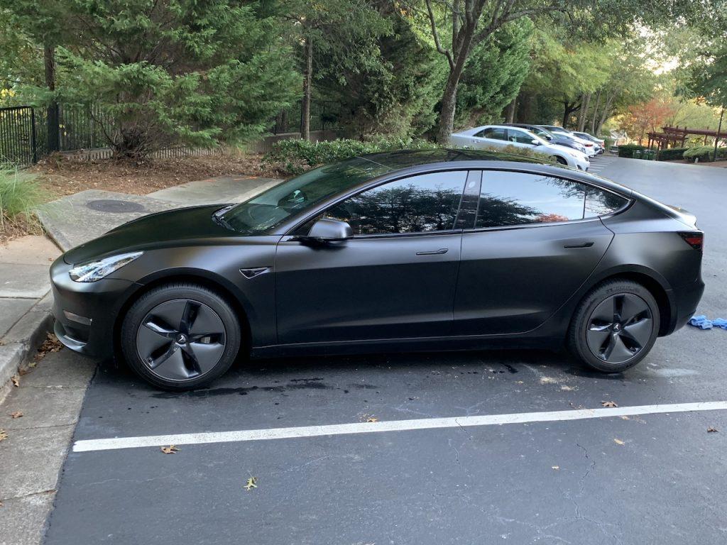 Model 3 2018 Black 69b93 Only Used Tesla