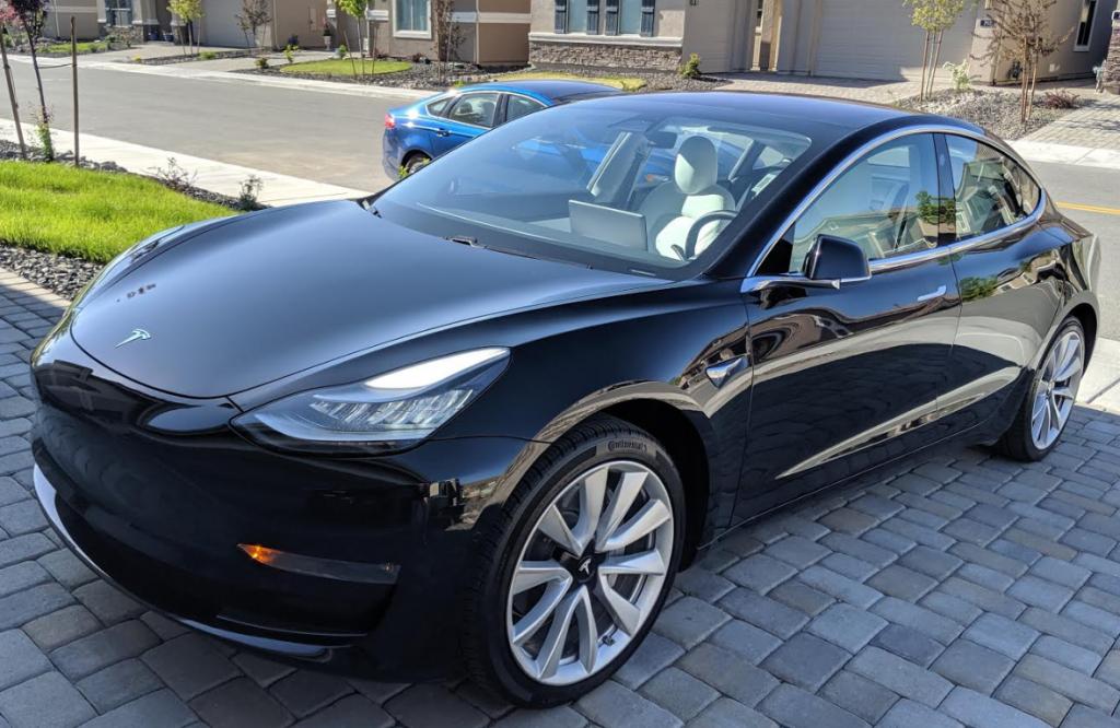 Model 3 2018 Black Ce610 Only Used Tesla