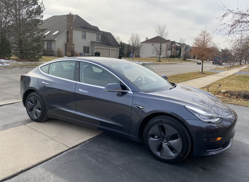 Model 3 / 2020 / Midnight Silver - acd70 | Only Used Tesla