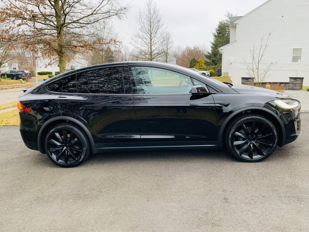 Model X 2018 Black 457e0 Only Used Tesla