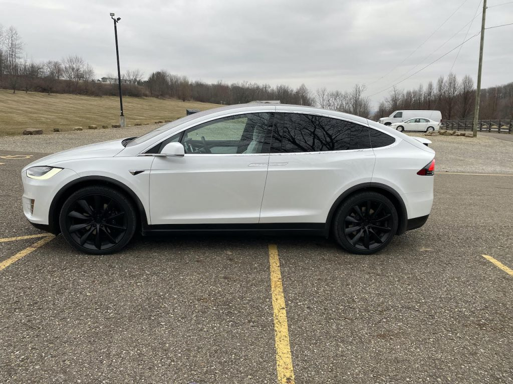 Model X 2019 Pearl White 64939 Only Used Tesla