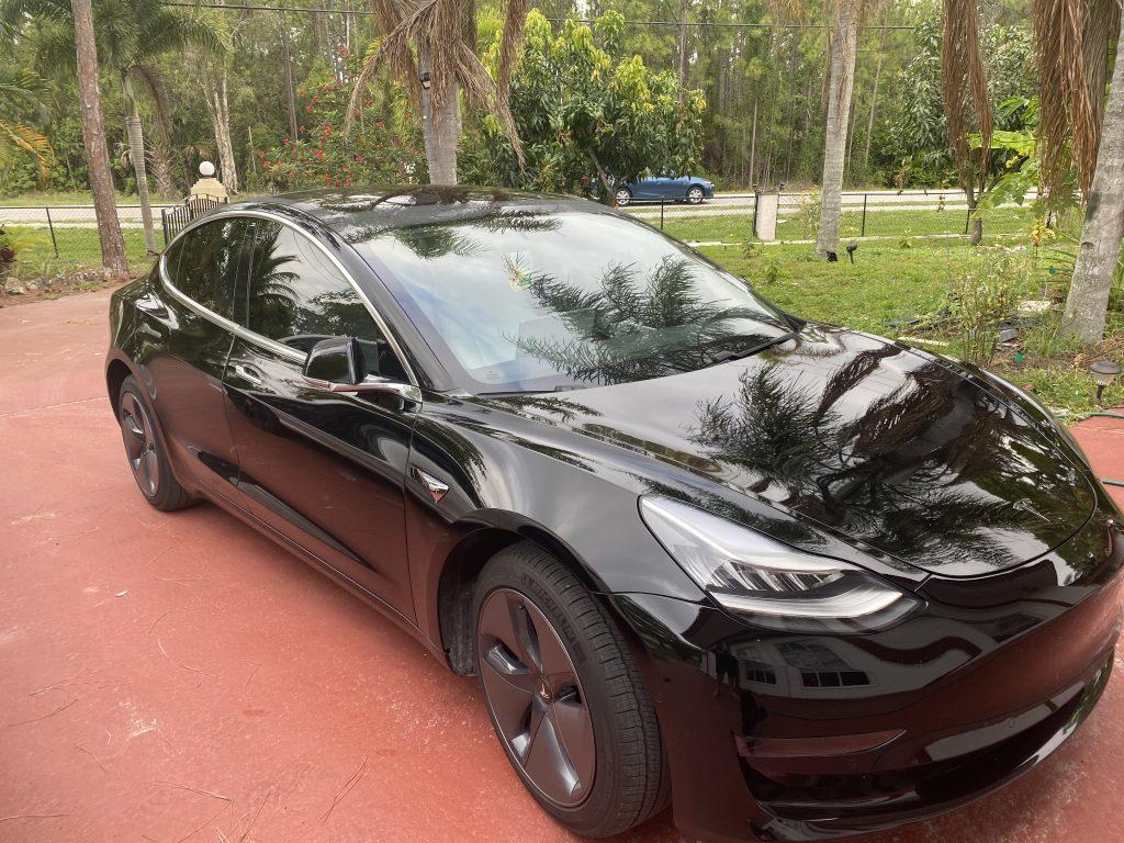 Model 3 2020 Solid Black 0679a Only Used Tesla