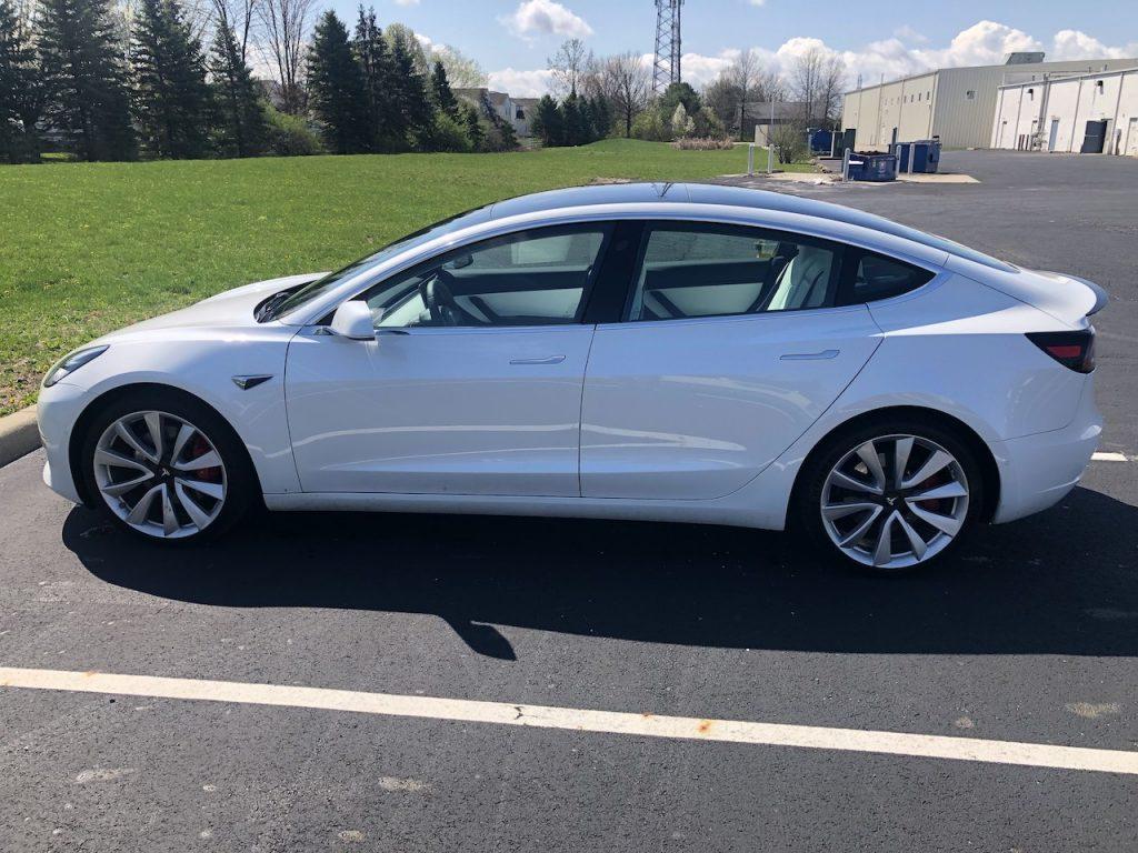 Model 3 2020 White 039b7 Only Used Tesla
