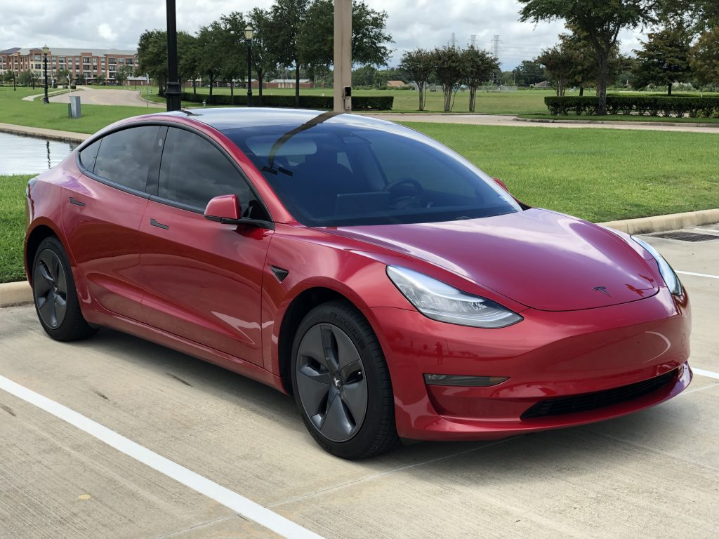 Model 3 / 2019 / Red Multi-Coat - c6263 | Only Used Tesla