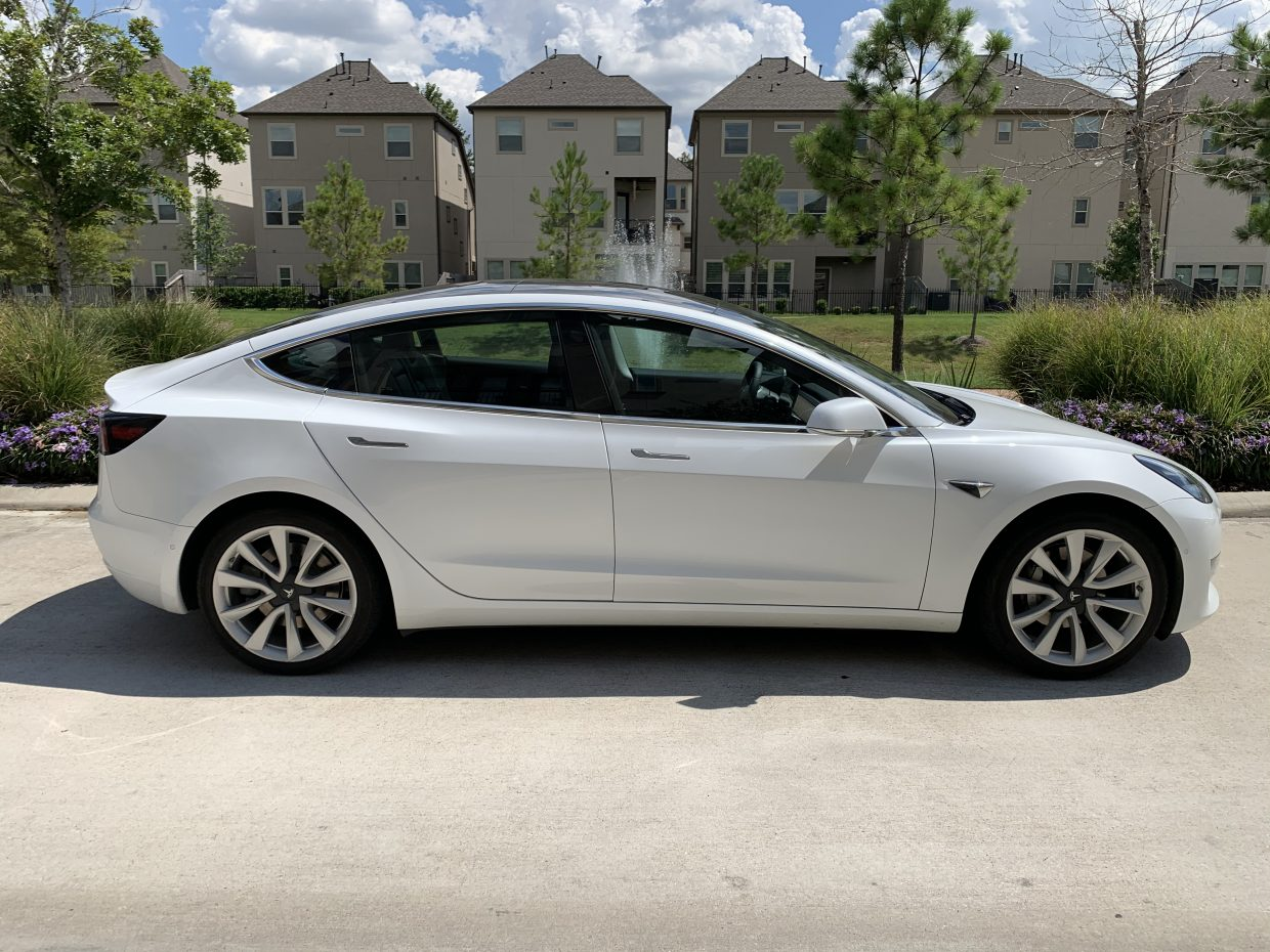 Model 3 / 2019 / White - 3449f | Only Used Tesla