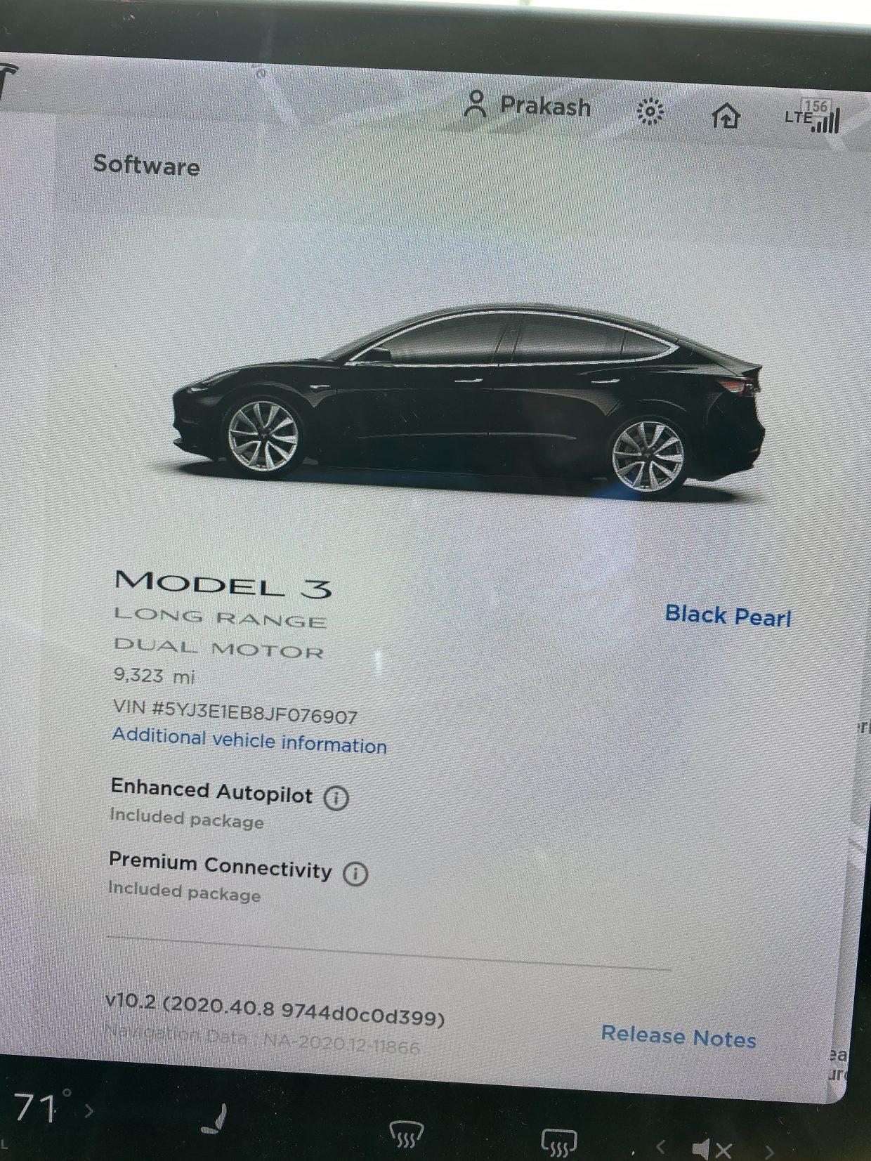Model 3 / 2018 / Obsidian Black Metallic - 9a042   Only ...